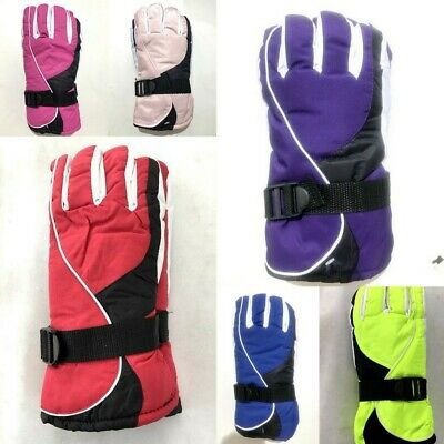 New Adults Women's Winter Outdoor Sports Gloves Waterproof Ski Snow Skiing Glove
