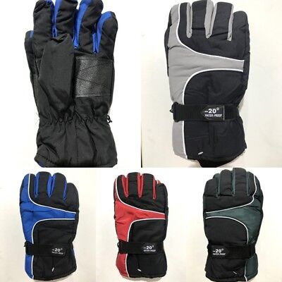 New Adults Men's Winter Outdoor Sports Gloves Waterproof Ski Snow Skiing Glove