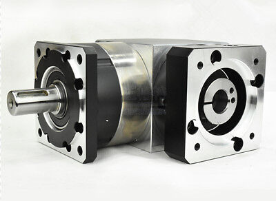 90 degree planetary gearbox 15:1 to 100:1 for NEMA23 stepper motor input 1/4inch