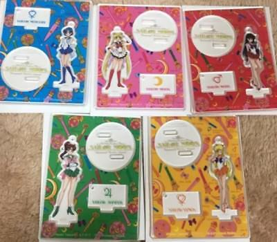 USJ Universal Studios Japan Limited 2018 Sailor Moon Collectable Key Chain 5 set