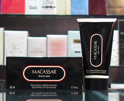 Macassar - Rochas Soothing Aftershave 50ml - Emulsion Apres Rasage - Dopobarba