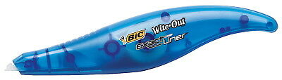 BIC Wite-Out Exact Liner Correction Tape, 1/5 in X 19.8 ft, White
