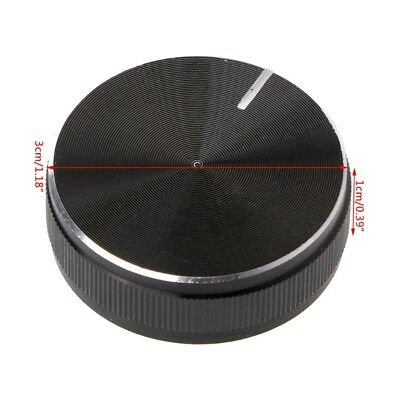 Seiko Aluminum Alloy Rotary Control Potentiometer Knob 30x10mm 6mm Shaft Hole