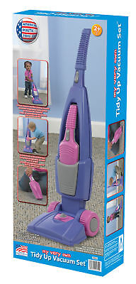 New American Plastic Toys Tidy Up Girl's Vacuum Cleaner Set 20040