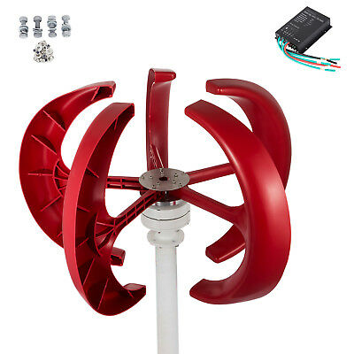 300W 24V DC Vertical Axis Wind Turbine Generator and Controller