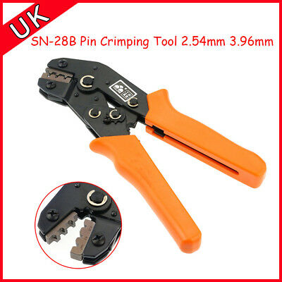 SN-28B Pin Crimping Tool 2.54mm 3.96mm 18-28AWG Crimper  For Dupont Terminal Pin