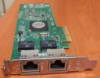 HP Server PCI-E Dual Gigabit Ethernet Adapter - HSTNS-BN36 Low profile bracket