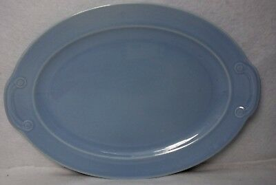 """TAYLOR Smith & TAYLOR china LURAY BLUE Oval Serving Platter - 13-5/8"""""""