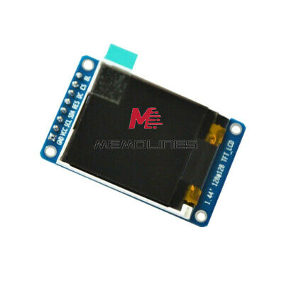 "1.44"" 128x128 65K SPI Full Color TFT LCD Display Module ST7735 OLED for Arduino"