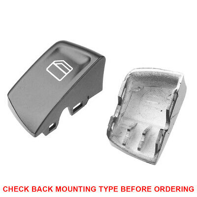 Mercedes Benz Window Control Switch Push Button Cover PAIR Sprinter Vito 2 Types