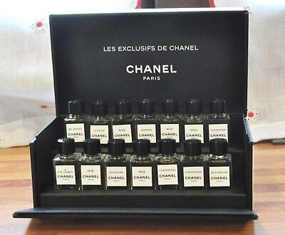 CHANEL Discovery set - Les Exclusifs - 14x4ml - Limited edition Rare