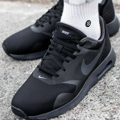 quality design c764a 51a98 NIKE AIR MAX TAVAS EXCLUSIVE 705149-010 sneakers chaussures hommes sport  noir