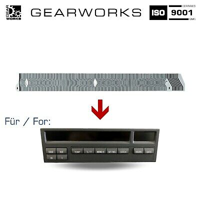 Gearworks Kontaktfolie Für Bmw 3Er/e36 Mid/bordcomputer/obc/display 11 Tasten