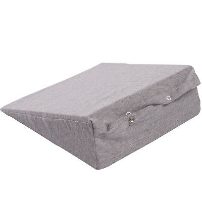 Widgey Wedge Multi Use Maternity Support Pillow with Removable Cover - Grey Marl