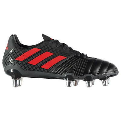 adidas Kakari SG Black Red CM7444 Rugby Boots Size UK 7 8 9 10 11 12 13