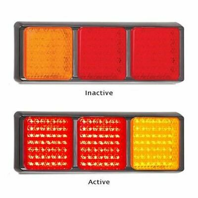 LED Autolamps 100BARRM 12-24 Volt Stop / Tail and Indicator Combination Lamp