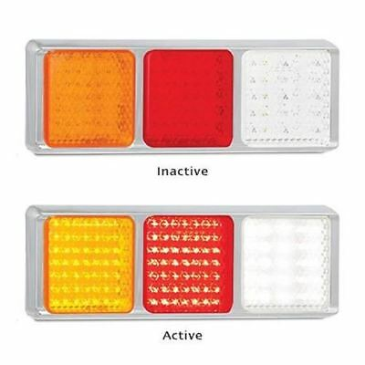 LED Autolamps 100CARWM 12-24 Volt Stop / Tail / Indicator and Reverse Combinatio