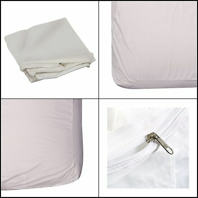 Washable DMI Zippered Plastic Waterproof Hypoallergenic Mattress Protector Cover
