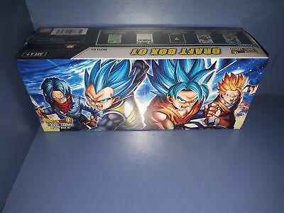 New BANDAI Sealed Dragonball Super Draft Box 1