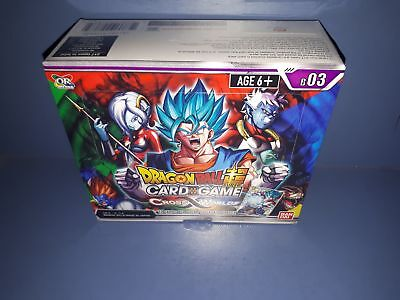 New BANDAI Sealed Dragonball Super Cross Worlds Booster Box
