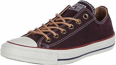 CONVERSE ALL STAR Ox Homme Baskets Mode Bordeaux