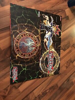 YuGiOh  Trading Crad Game Mat Free High Quality Tube