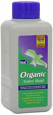 Elsan Organic Chemical Toilet Fluid / Cleaner - 400ml - All in One formulation
