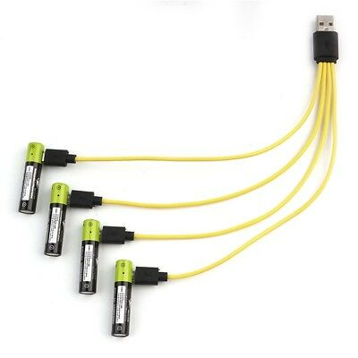 4/3/2/1 in 1 Micro USB Charging Cable Line for ZNTER Rechargeable Batteries