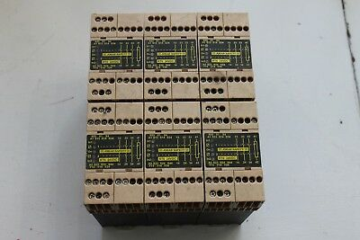 Jokab Safety RT6 Safety Relays 24VDC (lot of 6)