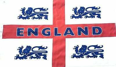 Mega Giant St George England Flat Cross Football Worldcup Rugby Wedding 5X3Ft
