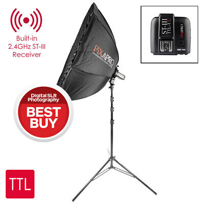 PIKA200 AD200 90cm Easy Open Umbrella Softbox Kit With ST-III Trigger FOR CANON