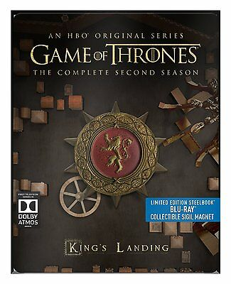 Game of Thrones Complete Season 2 BluRay Limited Edition Steelbook 5051892193221