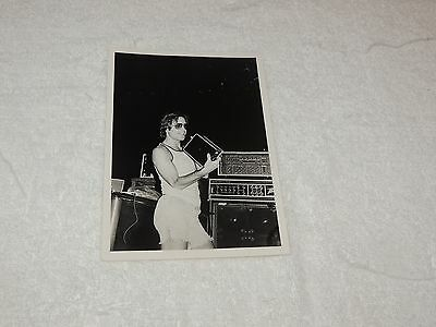 "Grateful Dead - Bob Weir  5"" x 7"" - Black & White Print from 1978 - Cool Shot!"
