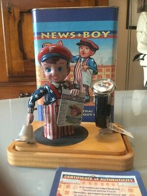 Fossil News Boy Made In Japan Blechspielzeug