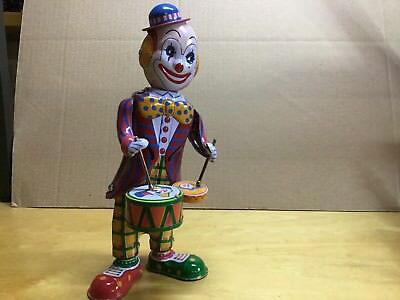 """Blechspielzeug Clown """"BOZO""""  Made In China  #79"""