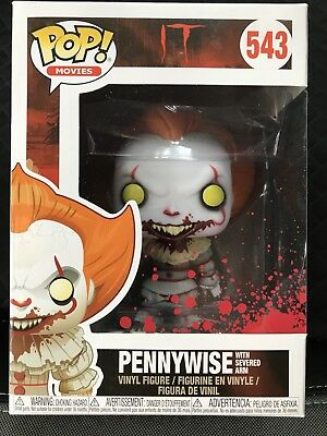 Funko Pop • PENNYWISE WITH SEVERED ARM #543