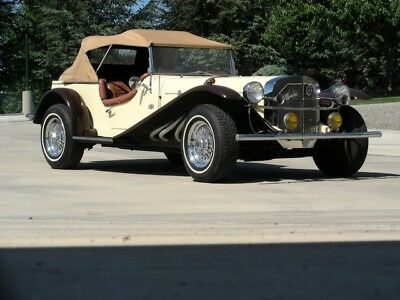 1929 Replica/Kit Makes  1929 Mercedes-Benz Gazelle Replica Drives Great with Mustang Drivetrain