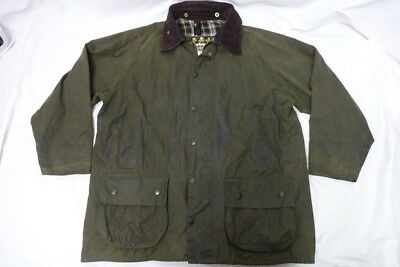 Barbour Waxed Classic Beaufort Jacket Sz-46 Orvis Coat