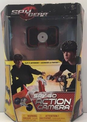 Kids Camera Spy Gear Spy Go Action Camera Ages 6 And Up NEW