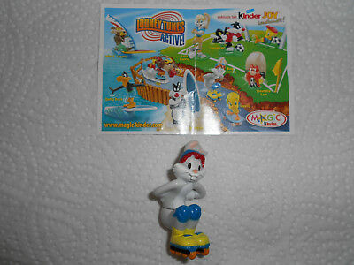Looney Tunes Active 2008 - Variante Bugs Bunny ohne Augenumrandung + BPZ TT392