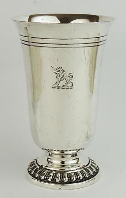 VICTORIAN SILVER PLATE CUP GOBLET c1880 Henry Wilkinson & Co