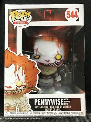 Funko Pop • PENNYWISE WITH WROUGHT IRON #544
