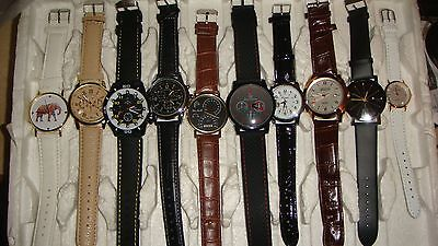 TRADE  JOB LOT OF 10 NEW  X  MIXED WATCHES 100% new and working///
