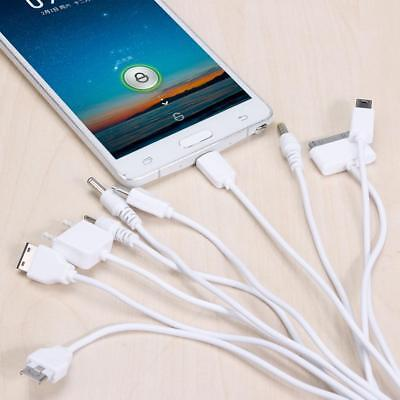 10in1 Universal Muti Charger Adapter USB Data Cable Wire Line for PSP Phone iPod