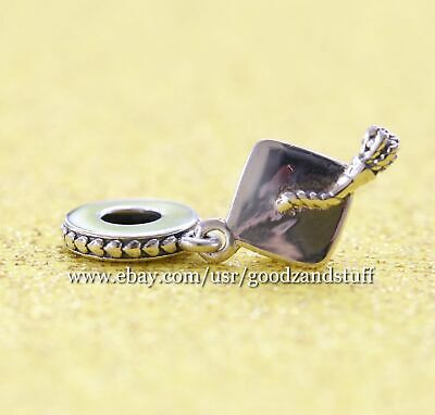 Hard Work Pays Off Authentic Pandora Sterling Silver Charm 791892
