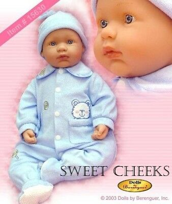 "Berenguer  22"" LA BABY SOFT BODY NIB DOLL #15630"