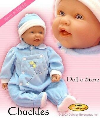 "Berenguer 22"" La Baby SOFT BODY NIB DOLL #15610"
