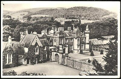 Old Postcard - Abbotsford House Scotland No 22 Unposted M&l National Series