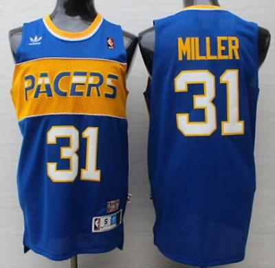 REGGIE MILLER  31 Indiana Pacers Jersey Throwback Vintage Classic ... 8cc5f6e8f