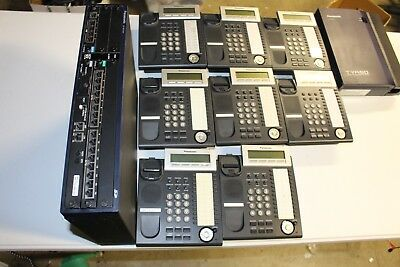 Panasonic phone system KX-NCP500 TVA50 and 8 KX-DT343 16 voip